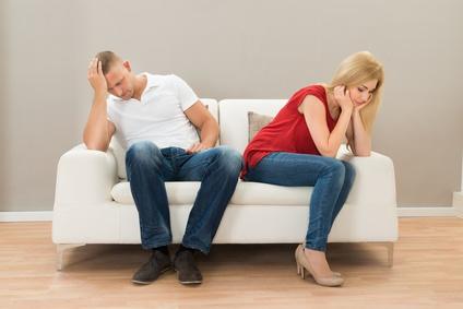 Bei einer Scheidung müssen die finanziellen Interessen der ex-Partner auseinander dividiert werden