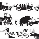 Liebeskranker Elefant beschädigt 15 Autos
